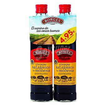 Borges Vinagre balsámico de modena botella 2 x 500 ml