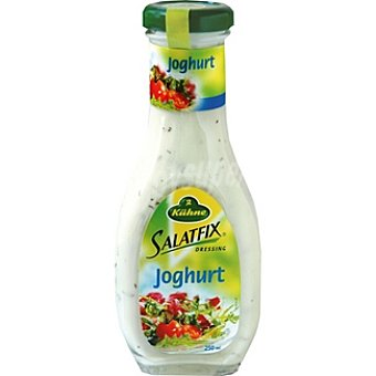 Kühne Salsa de yogur Salatfix Frasco 250 ml