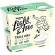 Yogur natural Pack 4 x 125 g Light & Free Danone