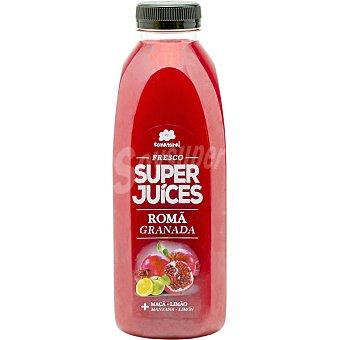 SONATURAL Zumo de granada, manzana y limón Botella 750 ml