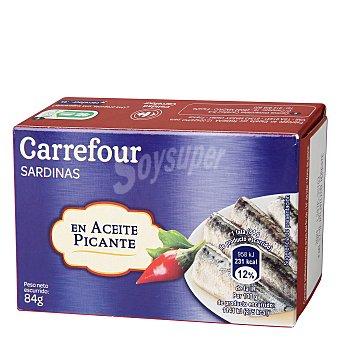 Carrefour Sardinas en salsa picante 84 g