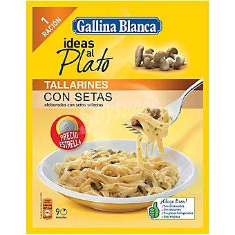Gallina Blanca Tallarines con Setas Ideas al Plato 1 ración 102 g