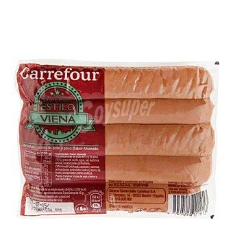 Carrefour Salchichas cocidas y ahumadas estilo Viena 200 g
