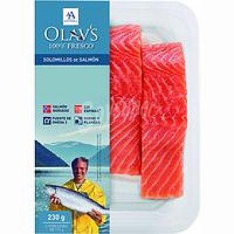 OLAV'S Solomillo de salmón Pack 2x115 g