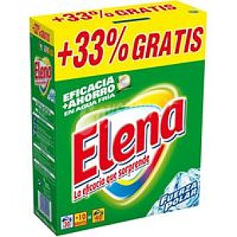 Elena Detergente Polvo  caja 40 cacitos