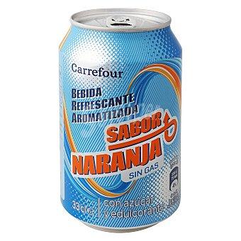 Carrefour Refresco isotónico de naranja 33 cl