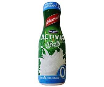 Activia Danone Yogur líquido natural, 0% materia grasa edulcorado 550 gramos