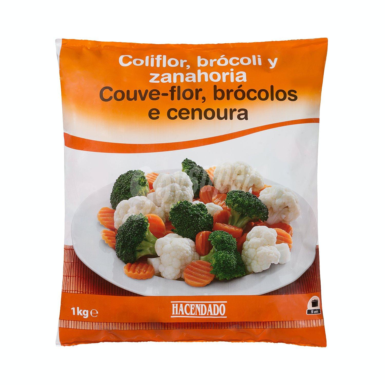 Hacendado Brocoli Coliflor Y Zanahoria Congelado Paquete 1 Kg Suelta el brócoli en ramilletes pequeños y. hacendado brocoli coliflor y zanahoria congelado paquete 1 kg