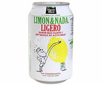 Minute Maid Limón & Nada Ligero Lata 33 cl