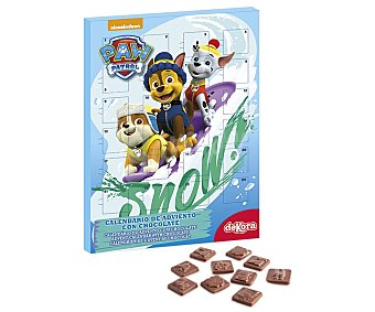 Dekora Calendario Adviento de chocolate Paw Patrol 50gr