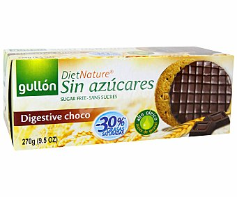 Gullón Galleta Digestive choco sin azucares añadidos 270 g