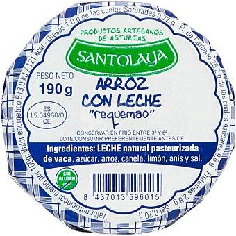 SANTOLAYA Arroz con leche tarro 200 g