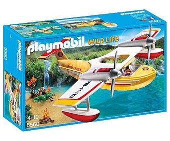 Playmobil Escenario de juego Hidroavión de extinción de incendios, City Life 5560 playmobil Wild life 5560