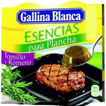 Gallina Blanca Esencias de tomillo-romero Caja 70 g