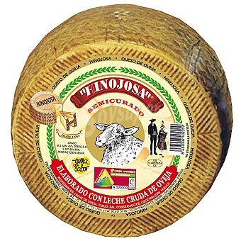 Hinojosa Queso semicurado leche cruda de oveja peso aproximado pieza 2,7 kg