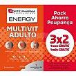 Energy multivit para adulto Caja 84 c Forte Pharma