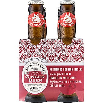Fentimans Ginger Beer tradicional  pack 4 botellas 20 cl