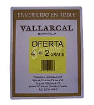 Vallarcal Estuche vino tinto Estuche de 6 botellas