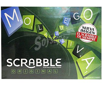Mattel Juego de mesa de creación de palabras Scrabble original mattel