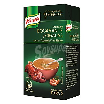 Knorr Crema de bogavante-cigala gourmet Brik 500 ml