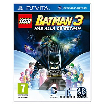 PS VITA Videojuego Lego Batman 3: Más Allá De Gotham 1 Unidad