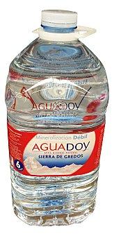 Aguadoy Agua mineral natural Garrafa de 6 L