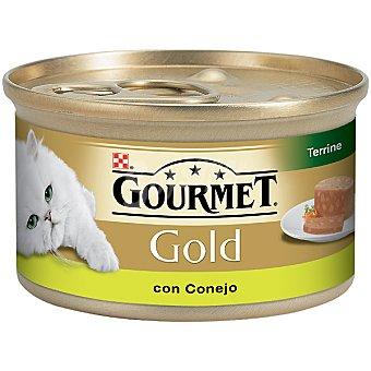 GOURMET GOLD Para gato conejo y caza lata 85 g Lata 85 g