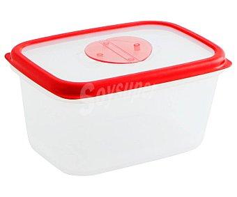 QUID Frigo Box Recipiente hermético rectangular de plástico, 1,7 litros, Frigo box QUID. 1,7 litros