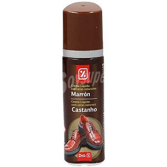 DIA Limpiacalzado autoaplizador con esponja color marrón bote 50 ml Bote 50 ml