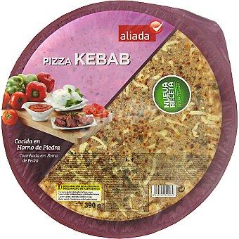 Aliada Pizza kebab cocida en horno de piedra Envase 390 g