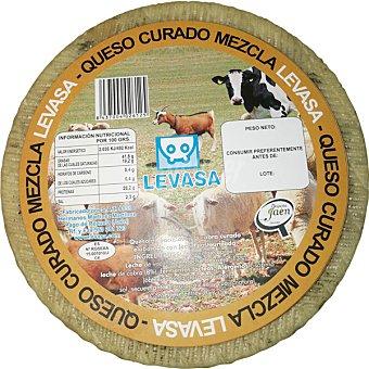 Levasa Queso curado con leche de cabra y vaca 3 kg