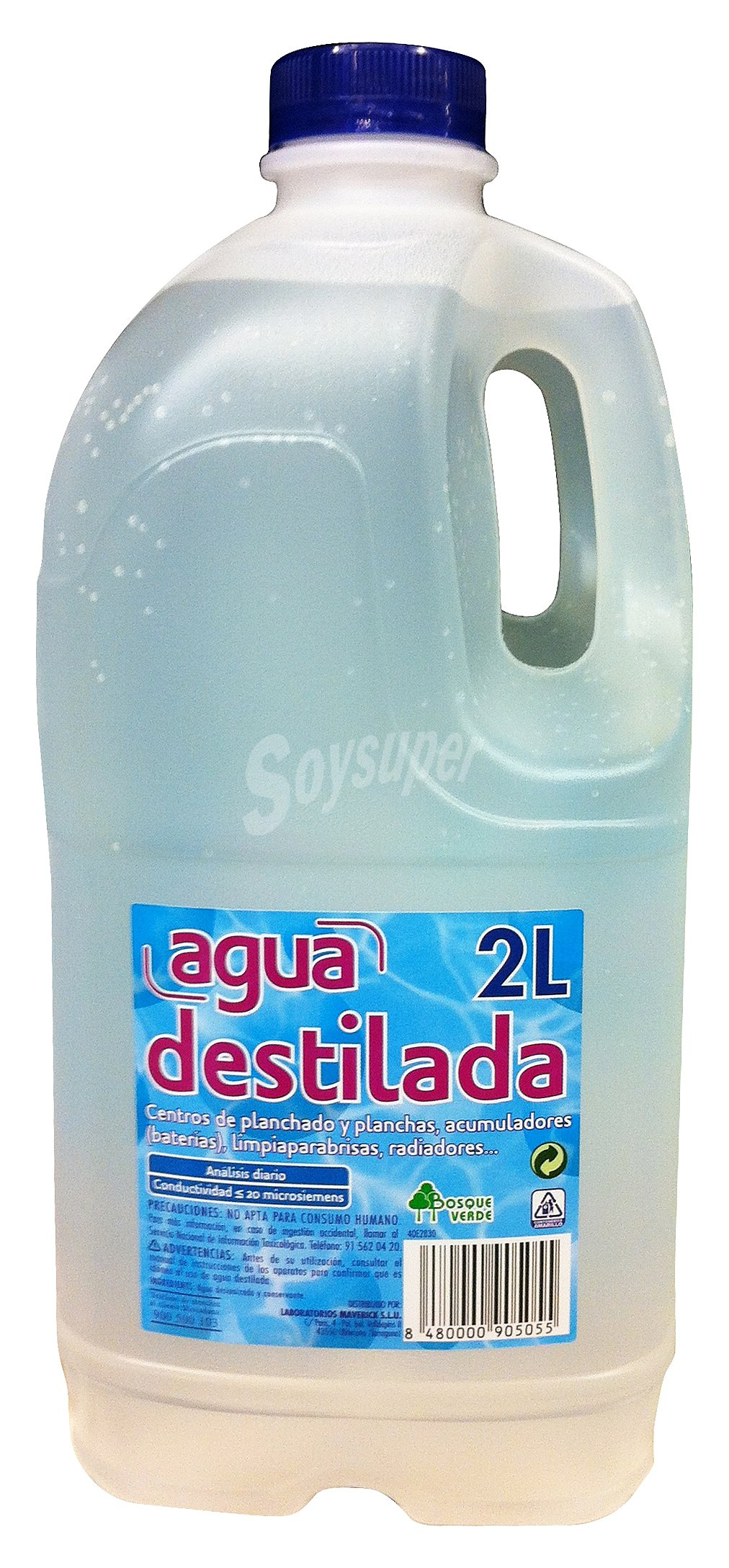 Bosque verde agua destilada botella 2 l - Agua destilada precio ...