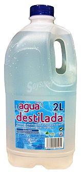 Bosque Verde Agua destilada Botella 2 l