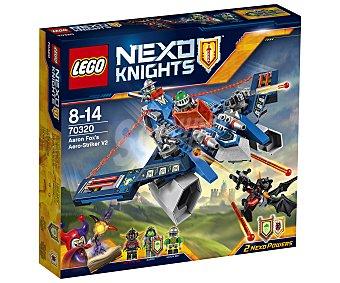 LEGO Juego de construcciones con 301 piezas Aaron Fox's Aero-Striker V2, Nexo Knights 70320 1 unidad