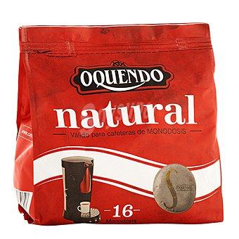 Oquendo Café natural monodosis 16 ud