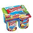 Yogur desnatado Duo de Frutas Pack de 4 x 125 g Sveltesse Nestlé