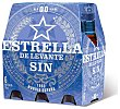 Cerveza sin alcohol 0,0 Pack 6 botella 25 cl Estrella Levante