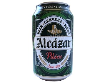 ALCÁZAR Cerveza Lata de 33 Centilitros