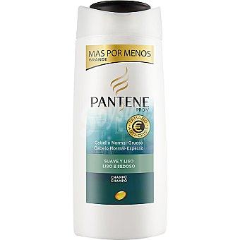 Pantene Pro-v Champú Suave & Liso cabello normal-grueso Frasco 675 ml