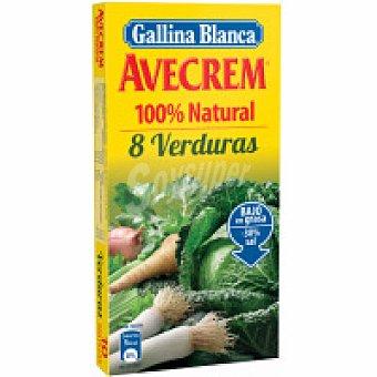 Avecrem Gallina Blanca Caldo 8 verduras Caja 10 unid