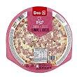 Pizza jamón y queso Envase 400 gr DIA