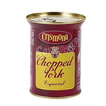 Crismona Chopped pork especial Lata 425 gr