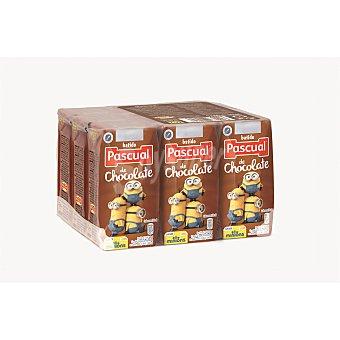 Pascual Batido sabor a chocolate Pack de 9x200 ml