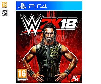 2K WWE 2K18 PS4 Videojuego WWE 18 para playstation 4. Género: Lucha. pegi: +16 2k