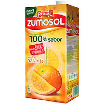 Zumosol Nectar de naranja 100% Sabor Brik 1 litro