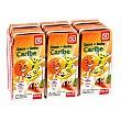 Bebida de frutas con leche caribe Pack 6 unidades 200 ml DIA