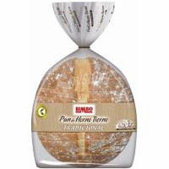 Bimbo Pan de horno redondo cortado Paquete 500 g