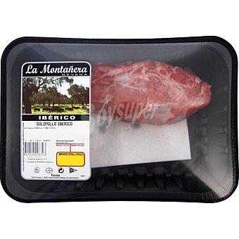 LA MONTAÑERA Solomillo fresco de cerdo iberico 1 unidad peso aproximado bandeja 400 g 1 unidad