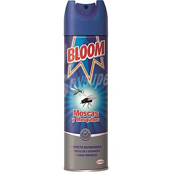 BLOOM insecticida volador para moscas y mosquitos instantáneo fragancia suave spray 600 ml