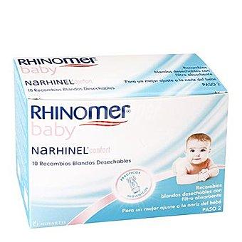 Rhinomer Baby Recambios aspirador nasal- Narhinel Confort- 10 Unidades